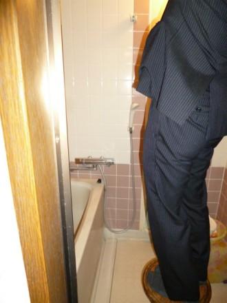 浴室着工前