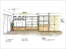 戸建て増築プラン1