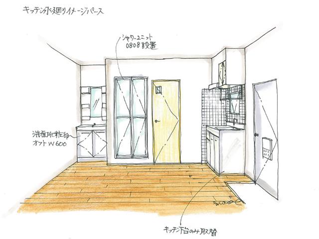 キッチン水回りイメージ