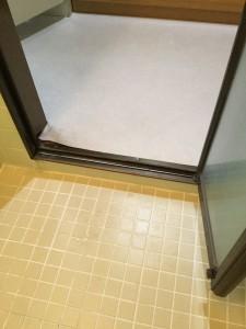 浴室段差ビフォー