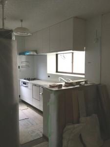 キッチン設置後