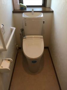 トイレafter